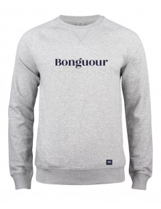 Sweat col rond Bonguour